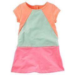 Carter's Long Sleeve Babydoll Dress - Toddler Girls