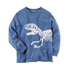 Carter's Long Sleeve T-Shirt-Toddler Boys