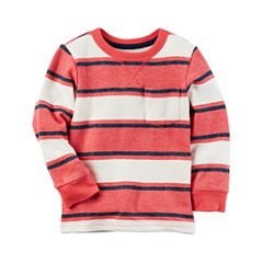 Carter's Long Sleeve T-Shirt-Toddler Boys