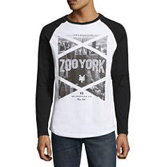 Zoo York Flamed Long Sleeve Raglan