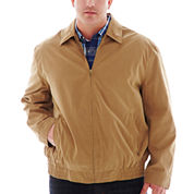 The Foundry Big & Tall Supply Co.™ Microfiber Golf Jacket
