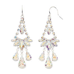 Vieste Rhinestone Chandelier Earrings