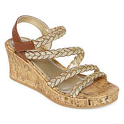 Arizona Jubilee Girls Wedge Sandals