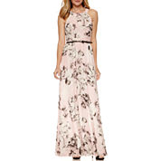 S. L. Fashions Sleeveless Maxi Dress
