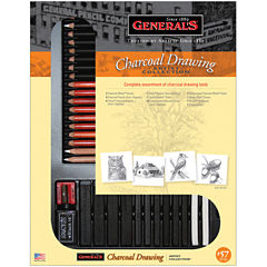 General's Charcoal Drawing Set