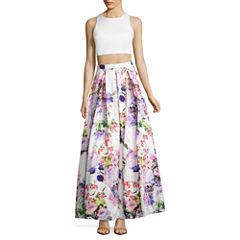 My Michelle Sleeveless Dress Set-Juniors