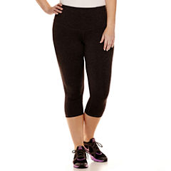 Xersion™ Performance Capri Pants with Tummy Control - Plus