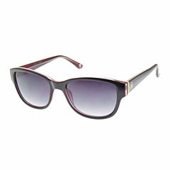 Nicole By Nicole Miller Full Frame Rectangular UV Protection Sunglasses