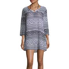 Liz Claiborne Santorini Stripe Chiffon Dress