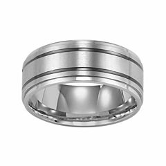 Unisex Stainless Steel Wedding Band