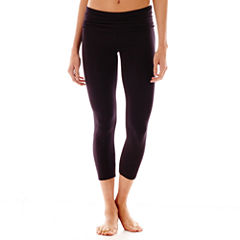 City Streets® Cropped Yoga Pants
