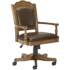 Kendrick Leather Game Chair