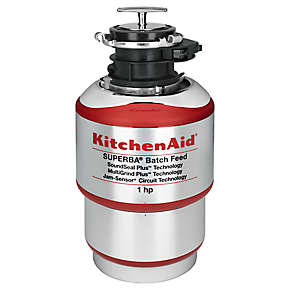 1-Horsepower  Batch Feed Food Waste Disposer
