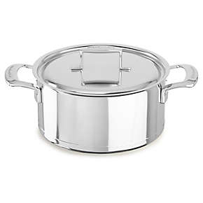 KitchenAid Professional Seven-Ply 5.5-Quart Low Casserole with Lid