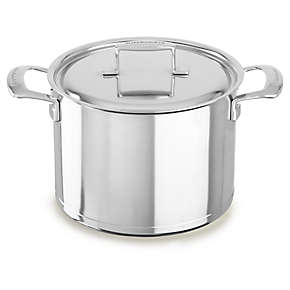 KitchenAid Professional Seven-Ply  8.0-Quart Stockpot with Lid