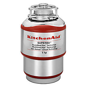 KitchenAid  1-Horsepower  Continuous Feed Food Waste Disposer