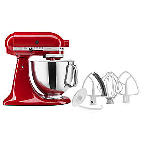 Artisan® Series 5-Quart Tilt-Head Stand Mixer with Flex Edge Beater