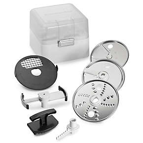 Food Processor Attachment Accessory Kit (For model KSM1FPA)