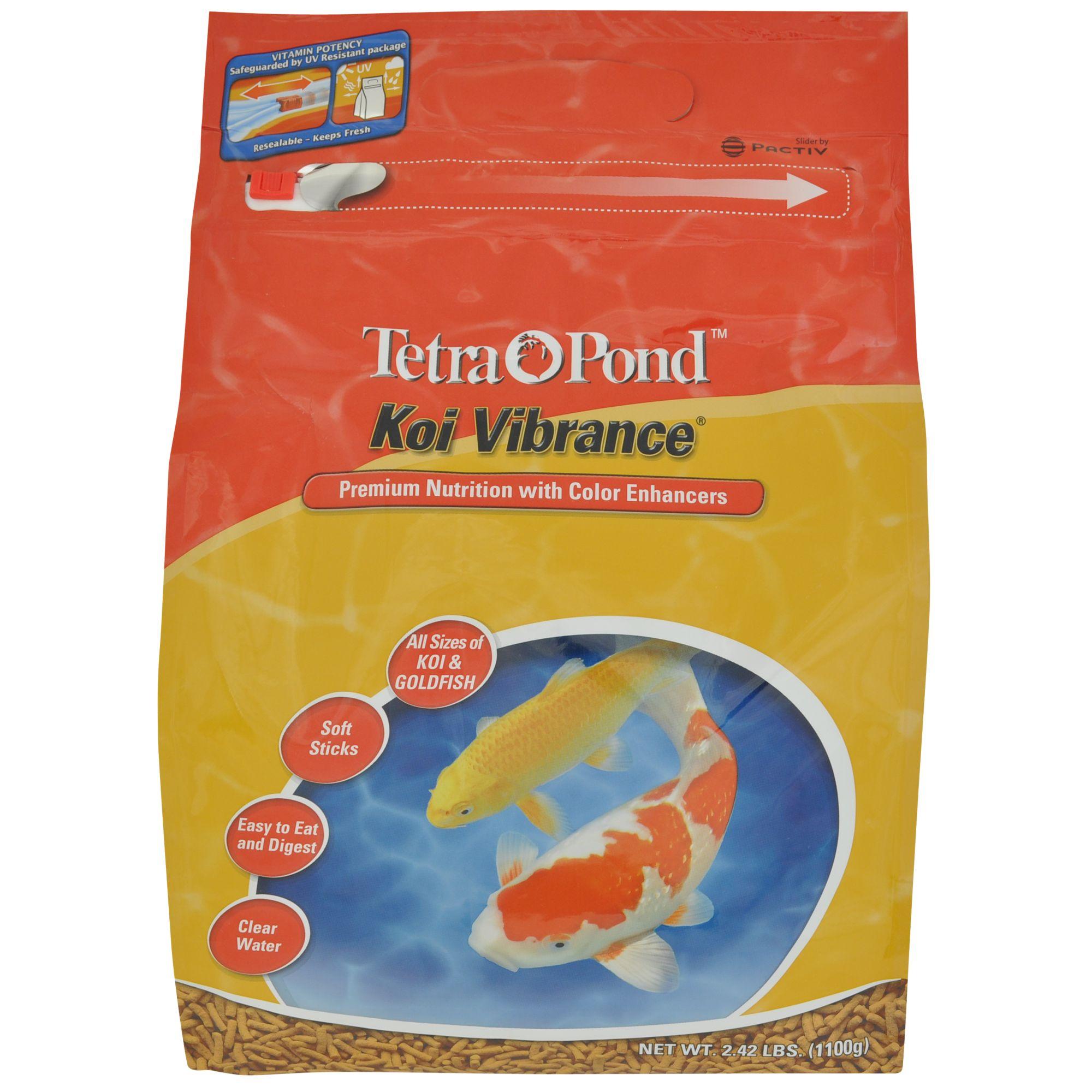 Tetra TetraPond Koi Vibrance Fish Food size: 2.42 Lb 1031244