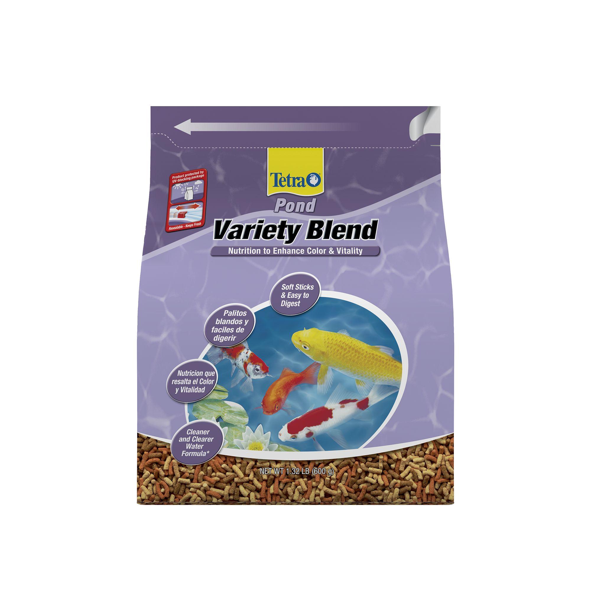 Tetra TetraPond Variety Blend Fish Food size: 1.32 Lb 1031634