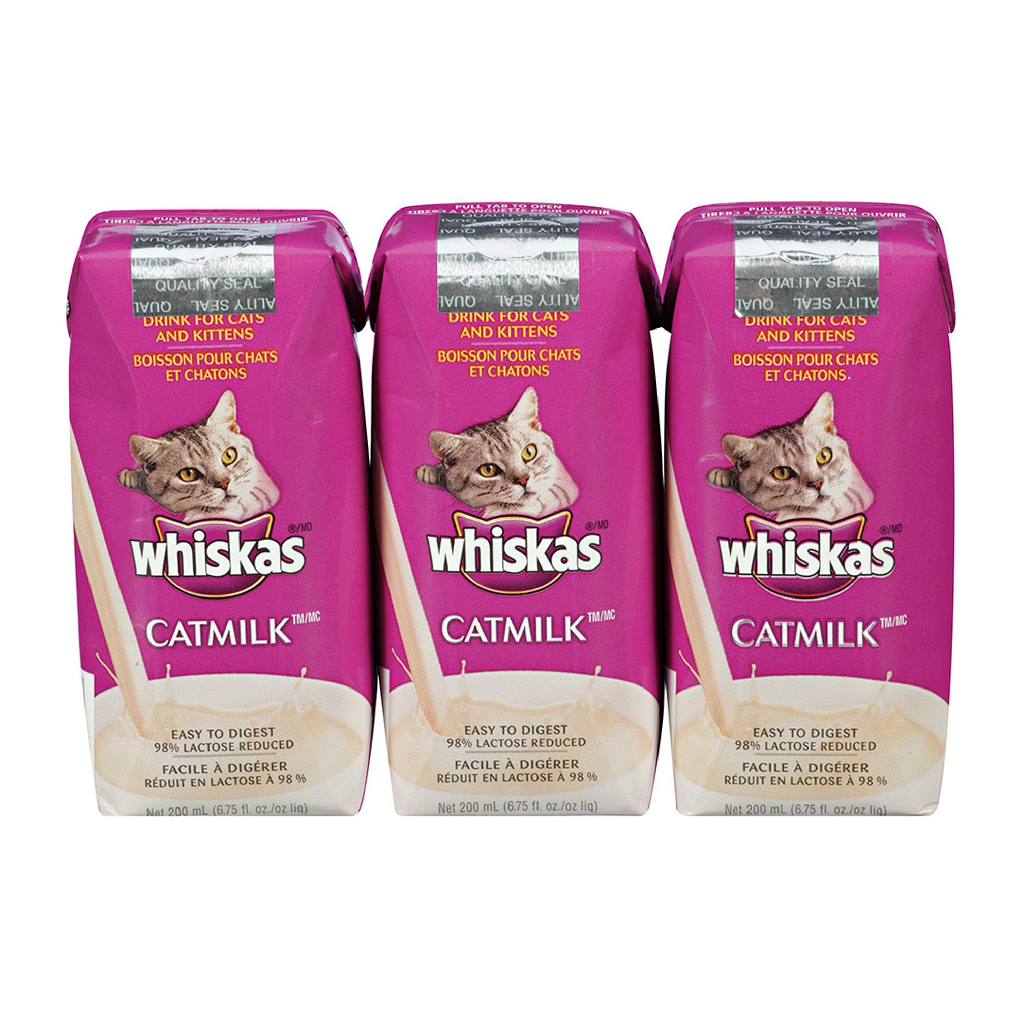 Whiskas Cat Milk Value Pack 3ct