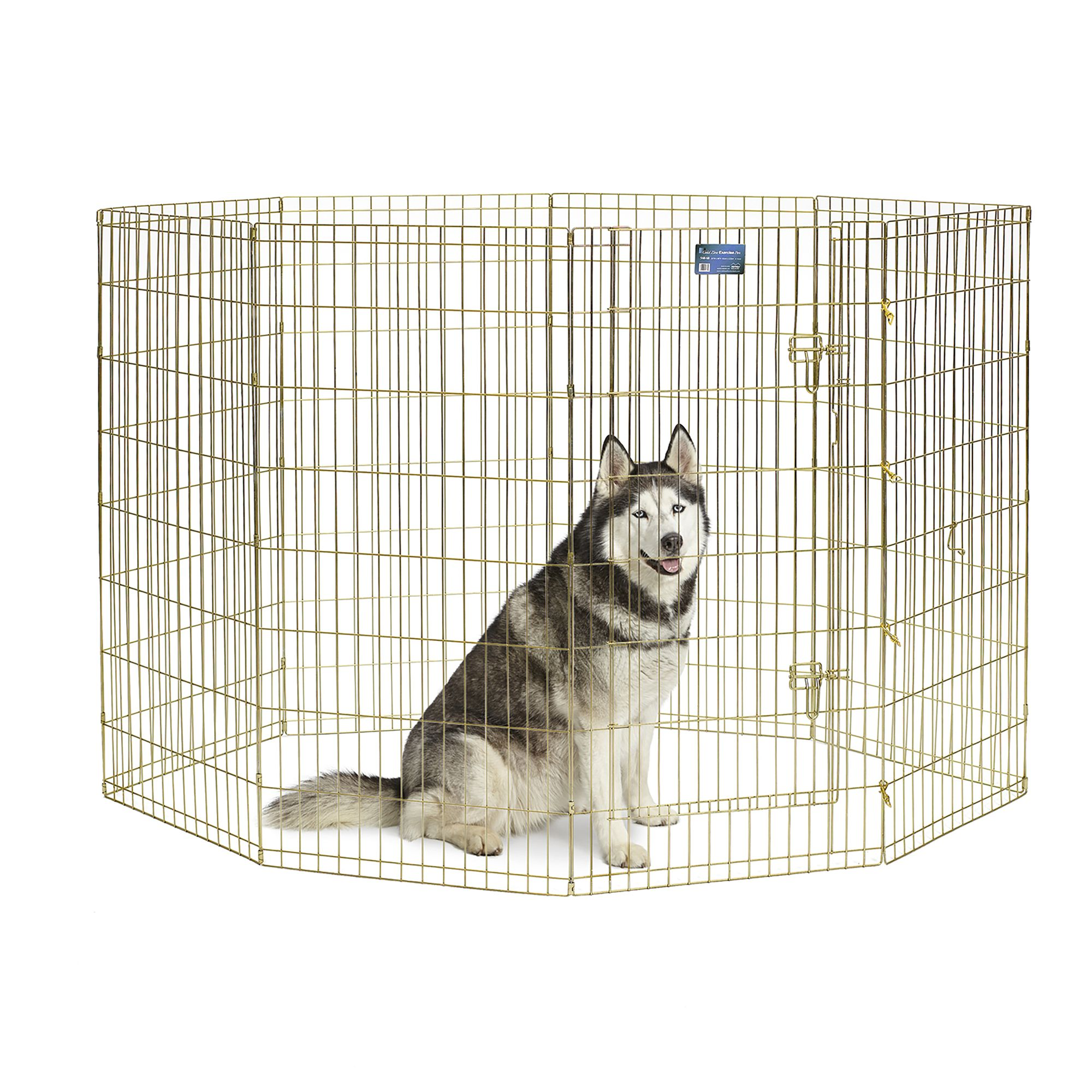 Midwest 8 Panel Exercise Pen Size 24w X 48h