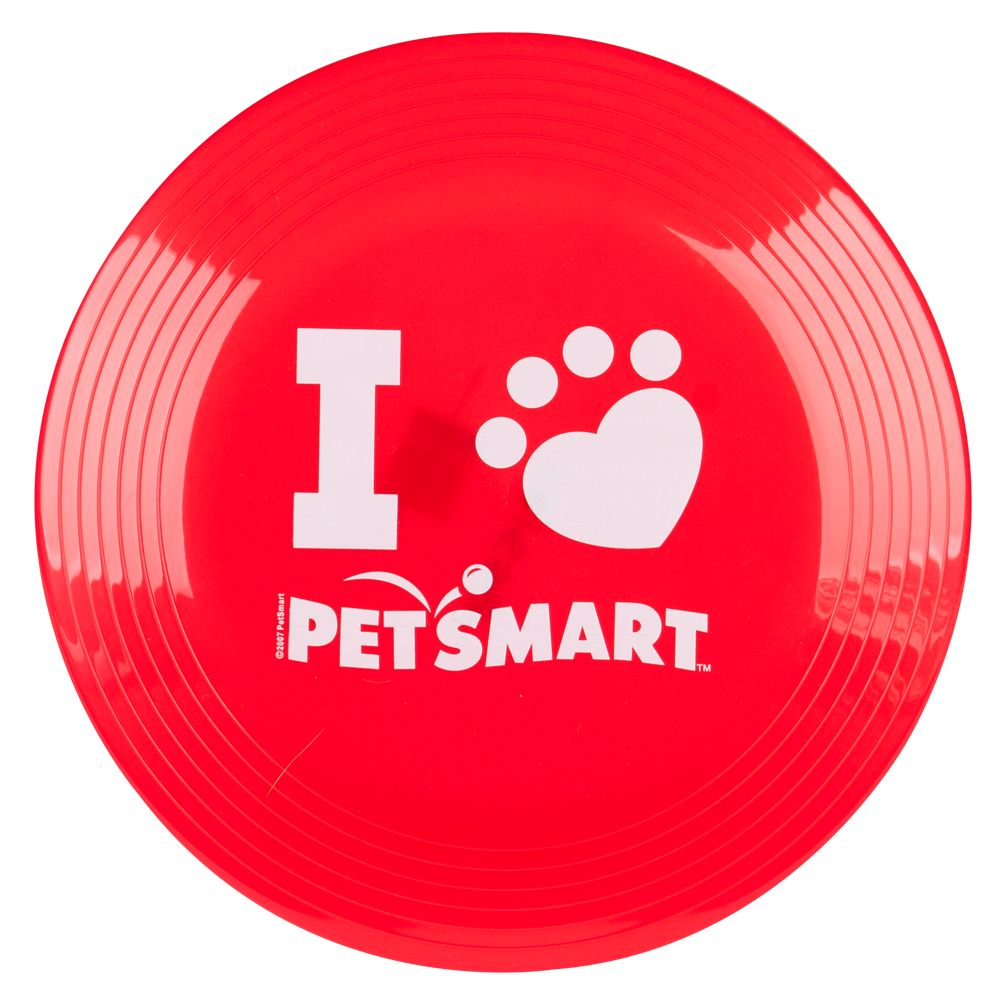 Grreat Choice Reg Pet Holiday Petsmart Flying Diso Dog Toy Red