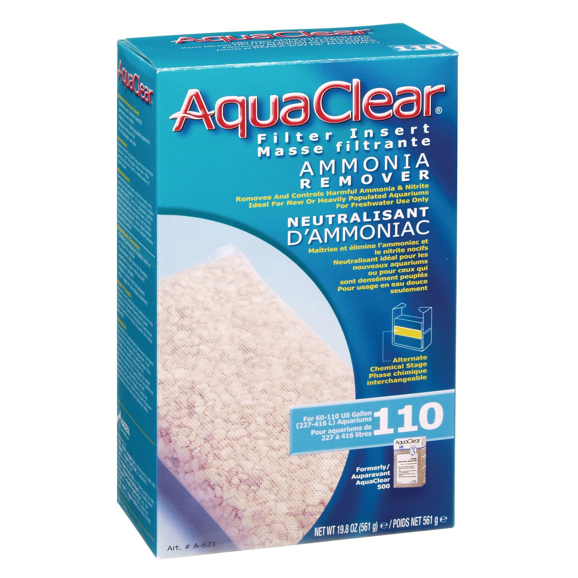 Aqua Clear Ammonia Remover Insert Size 110 Gal