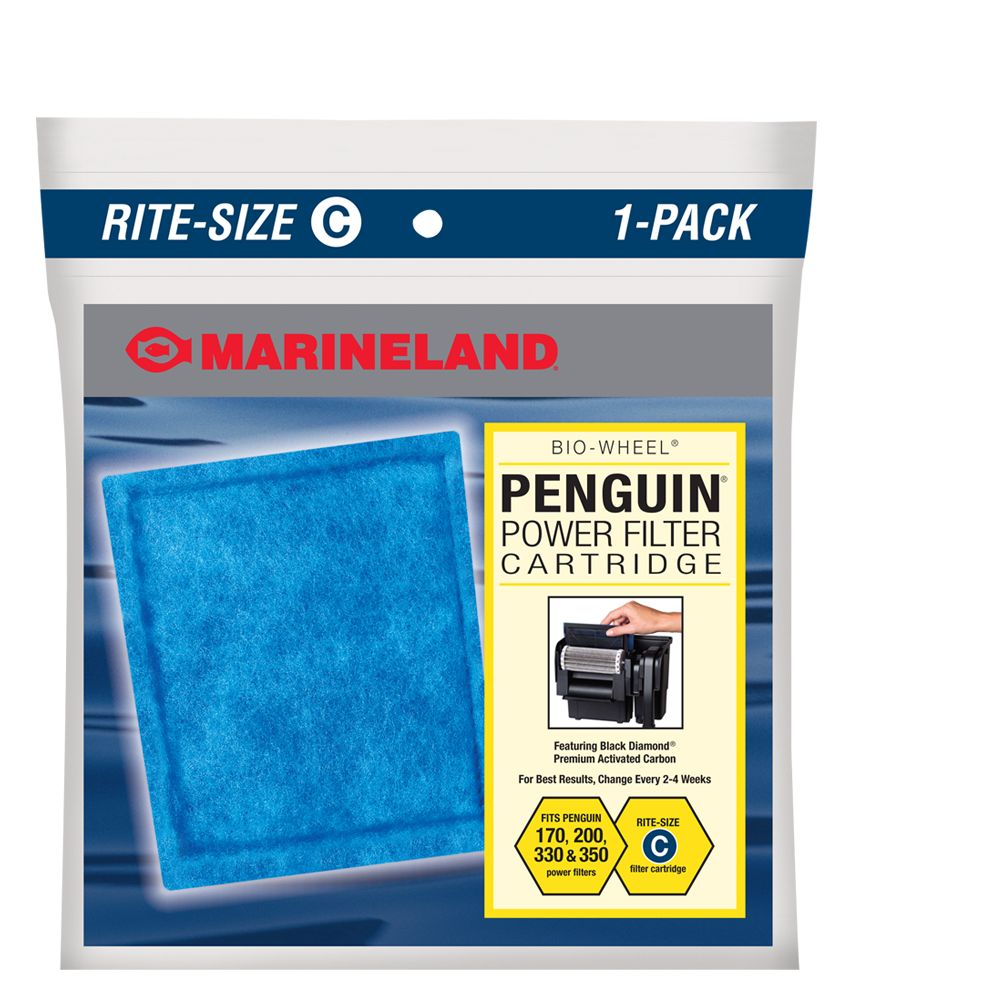 Marineland Penguin Rite Size C Power Filter Cartridges size: 1 Count 1832698