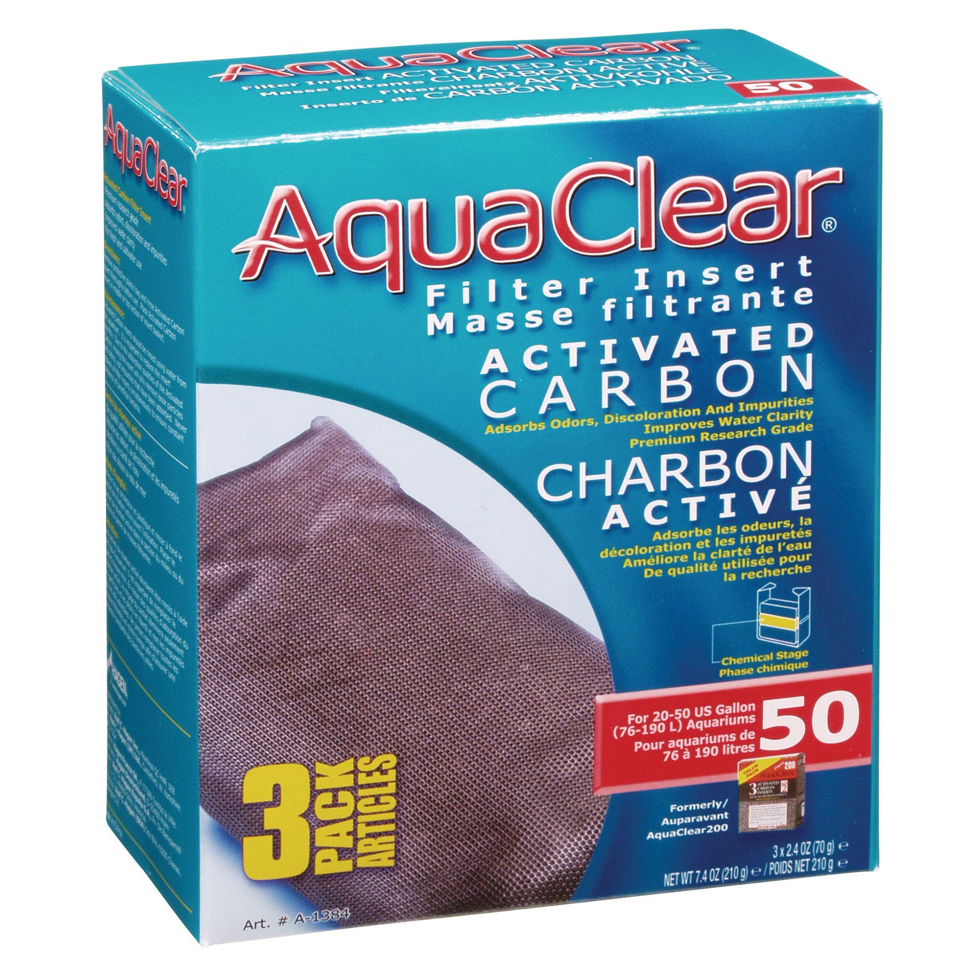 Aqua Clear Fluval Carbon Size 3 Count