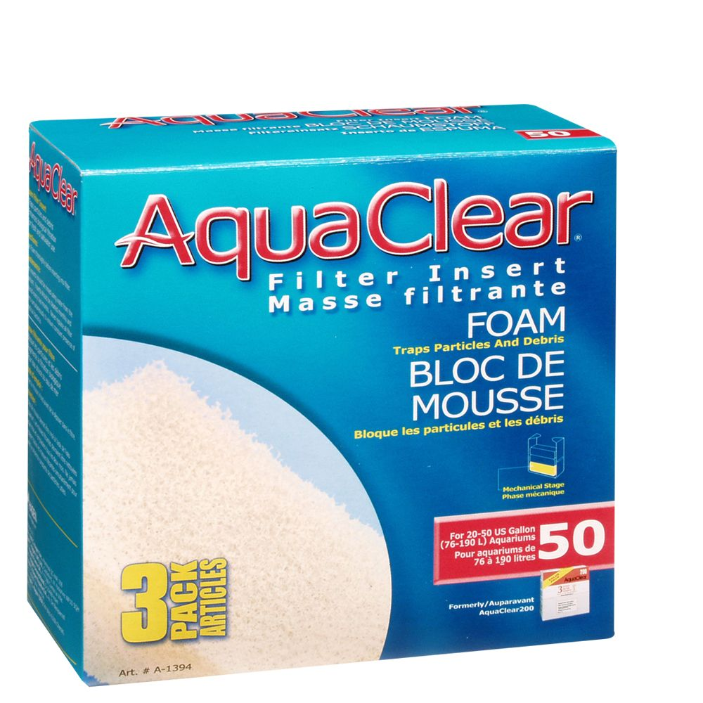 Aqua Clear Foam Filter Insert 1833332