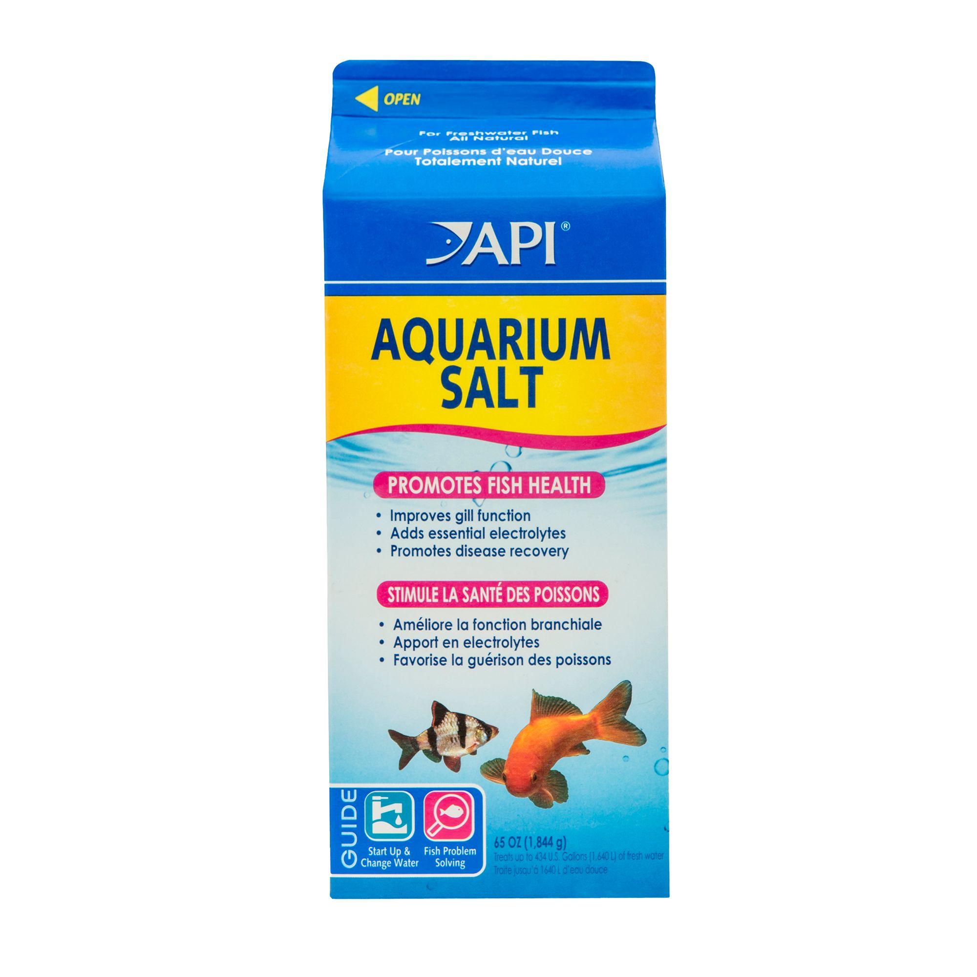 Api Aquarium Salt Size 65 Fl Oz