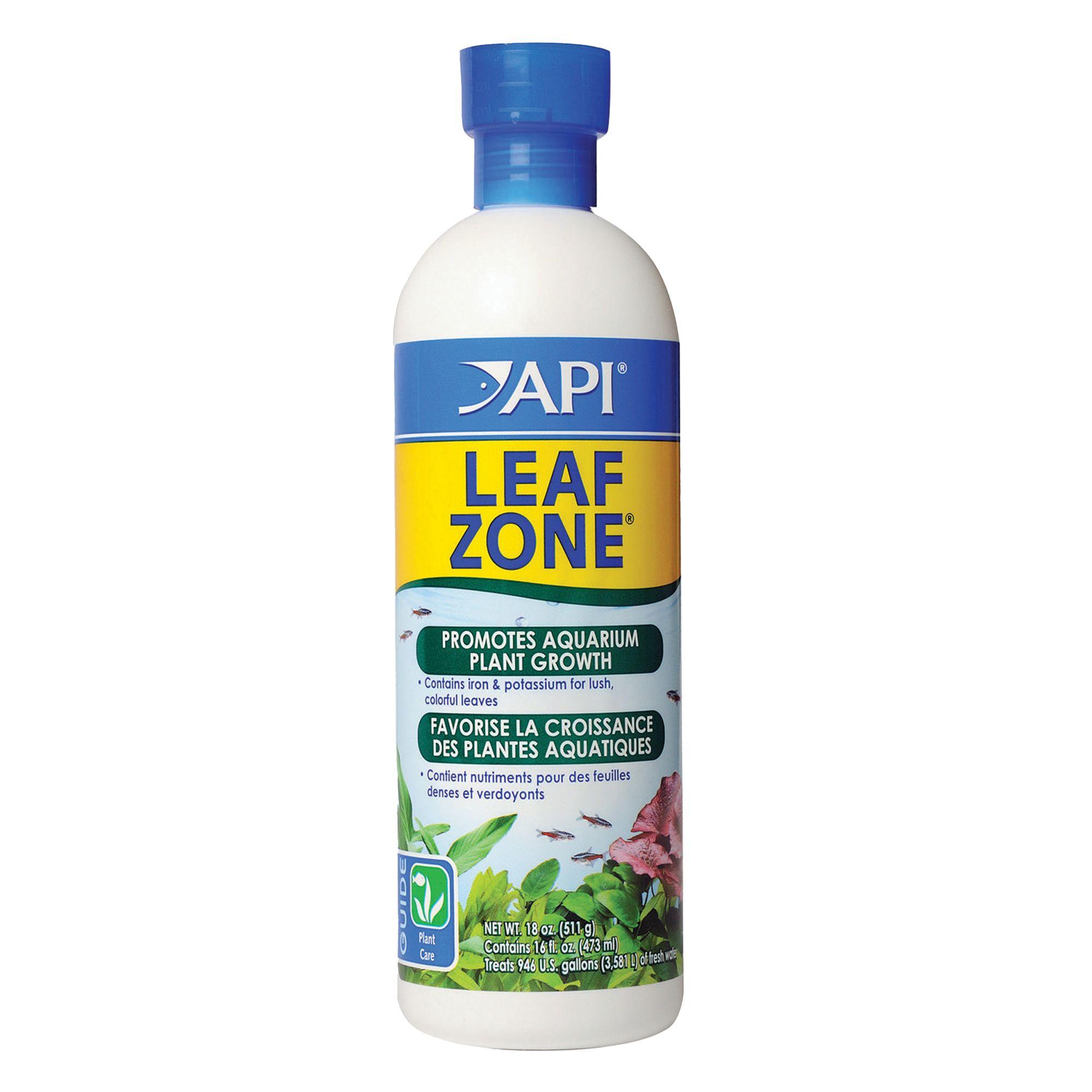 Api Leaf Zone Aquarium Plant Fertilizer Size 16 Oz