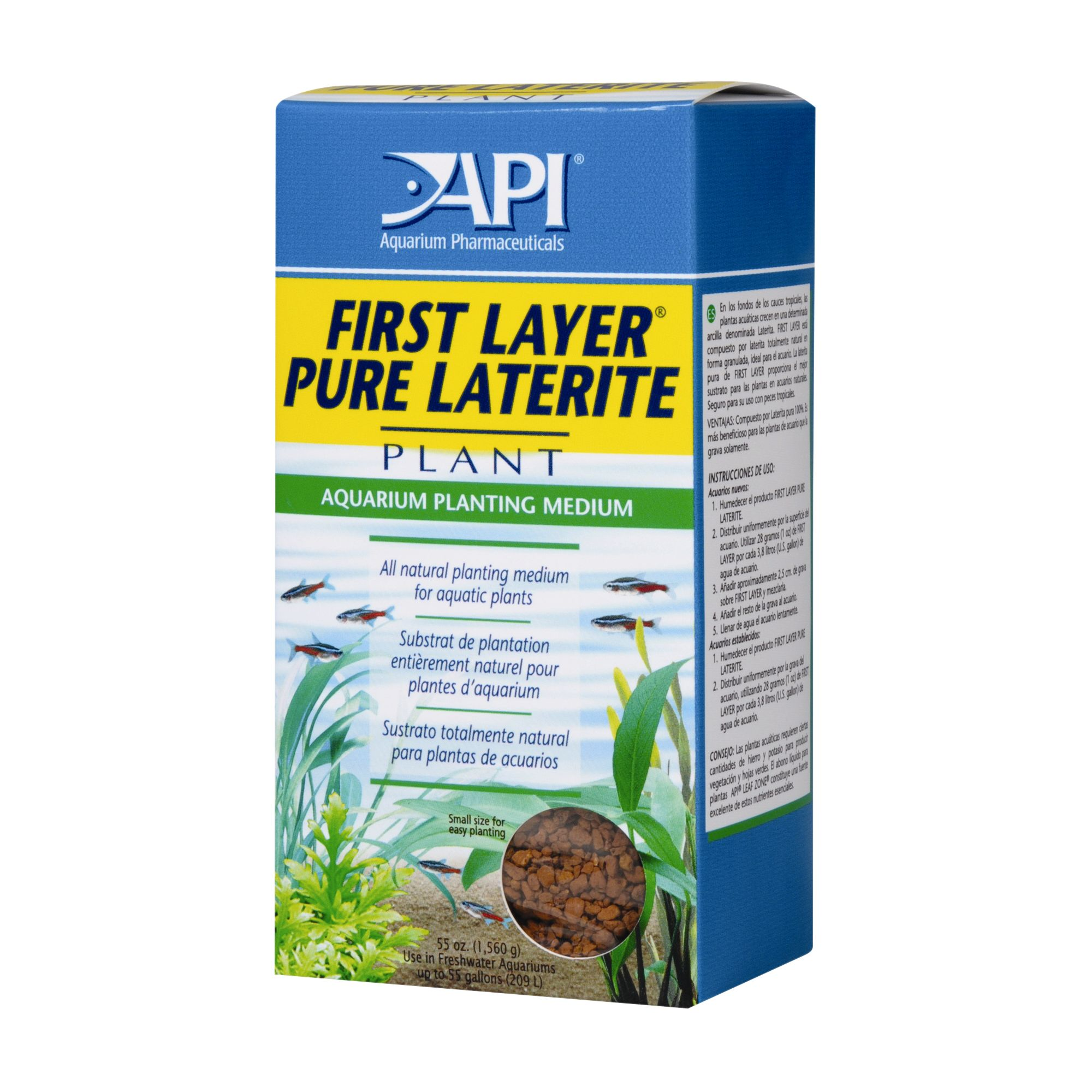 Apireg First Layer Pure Laterite Aquarium Plant Substrate