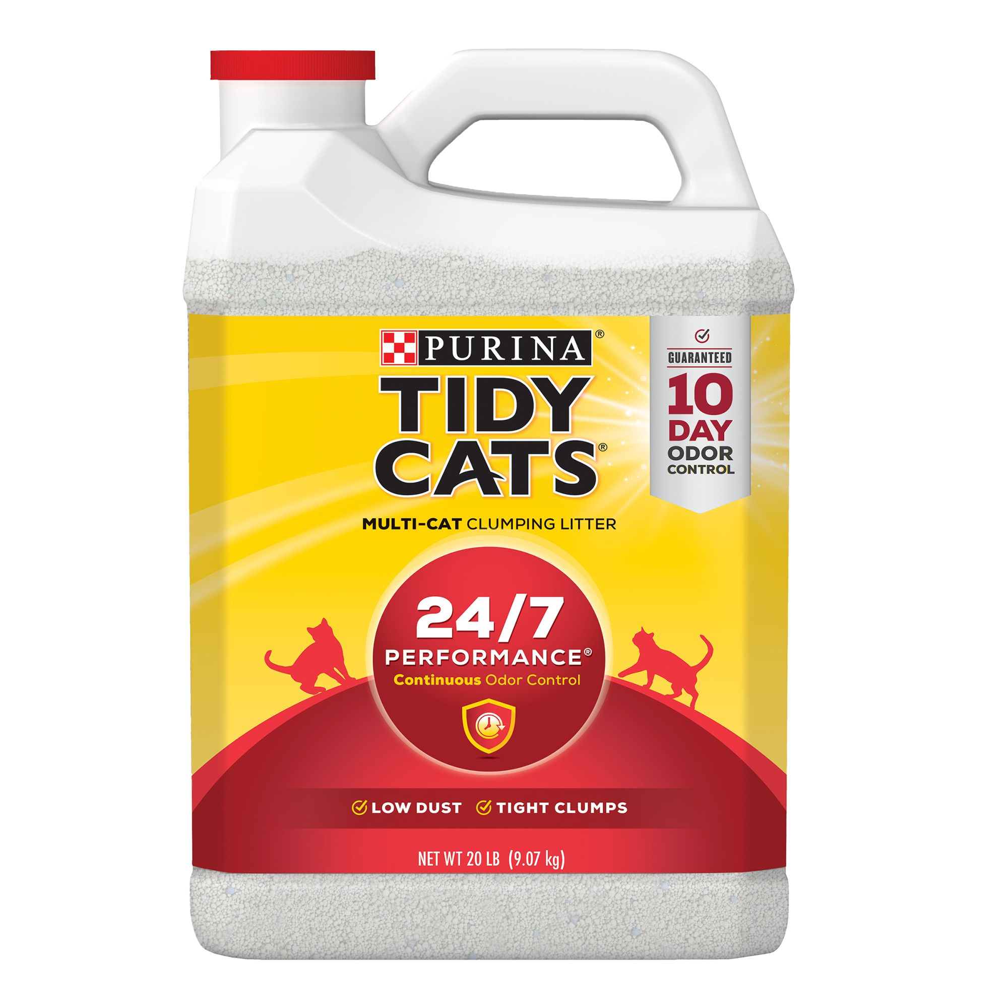 Purina Tidy Cats 24/7 Performance Cat Litter Clumping Multi Cat Size 20 Lb
