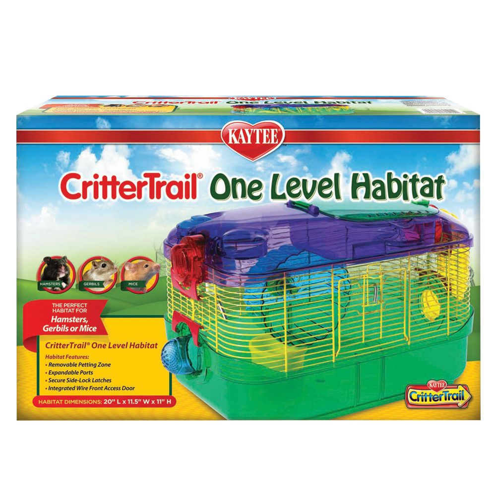 Kaytee CritterTrail One, Multi-Color, Super Pet 5011233