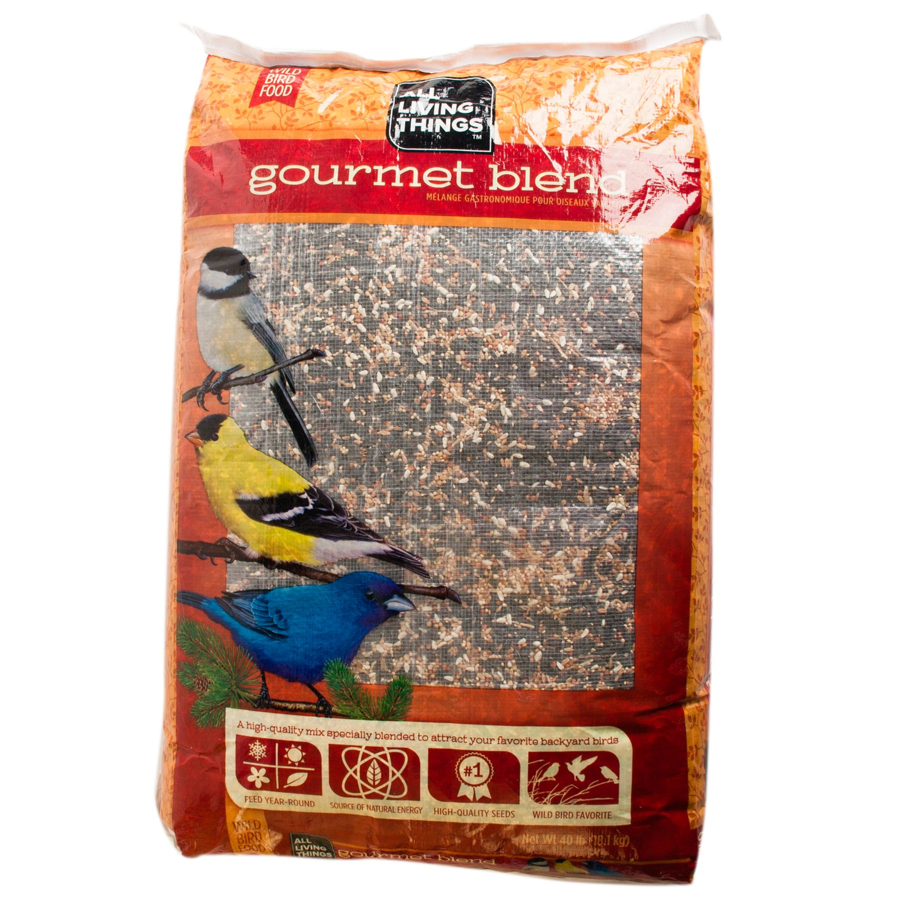 All Living Things® Gourmet Blend Wild Bird Food size: 40 Lb 5018161