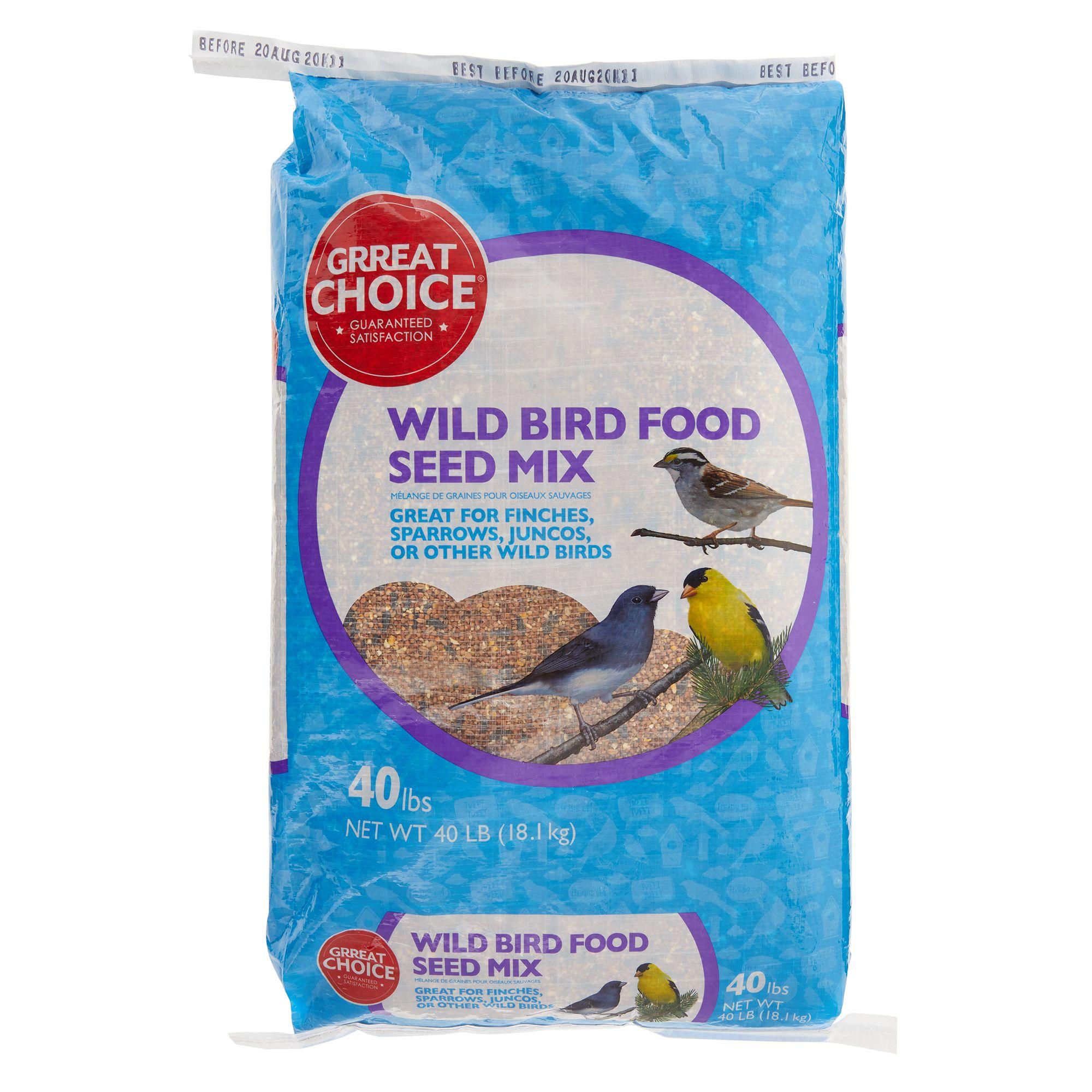 Grreat Choice Wild Bird Seed Mix size: 40 Lb