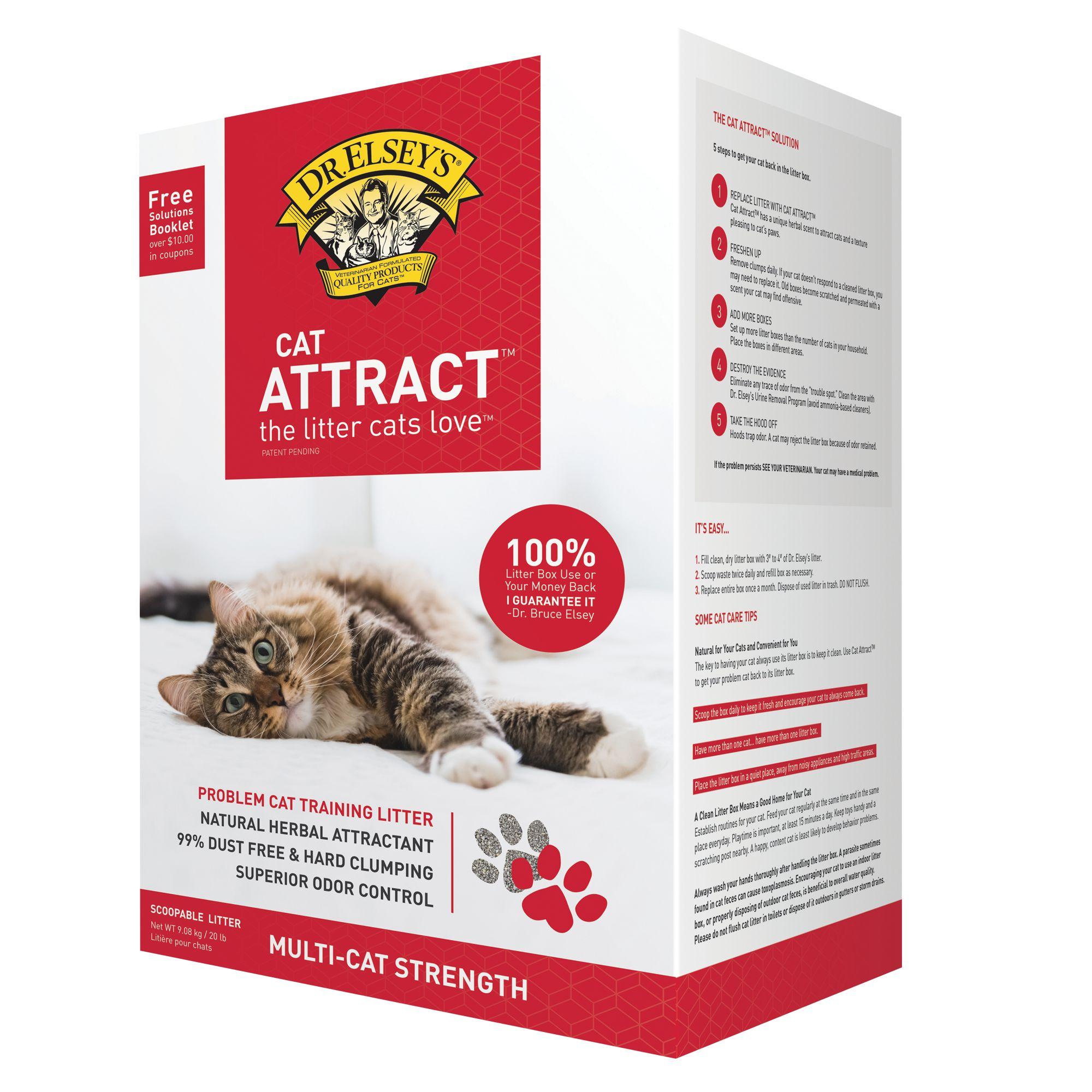 Precious Cat Cat Attract Cat Litter Size 20 Lb