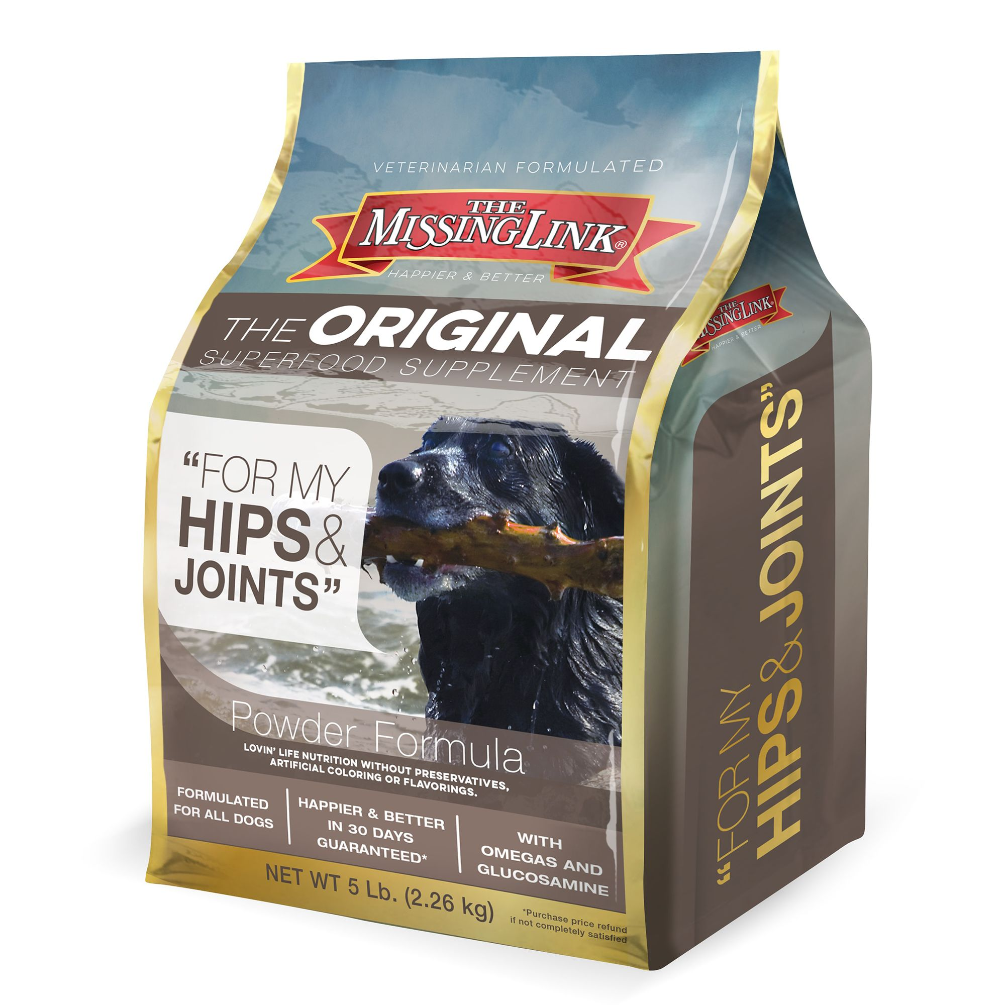 The Missing Link Hip And Joint Dog Food Supplement Size 5 Lb