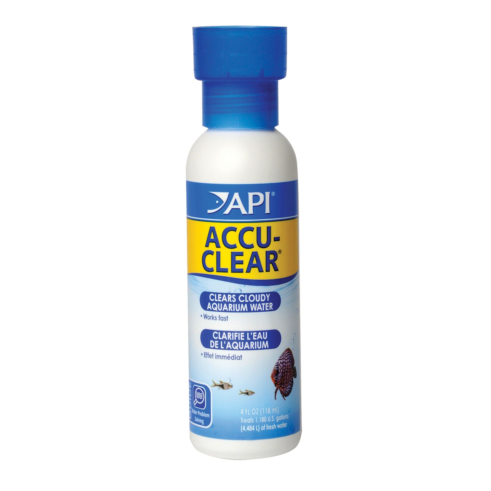 Api Accu Clear Aquarium Water Clairifier Size 4 Fl Oz