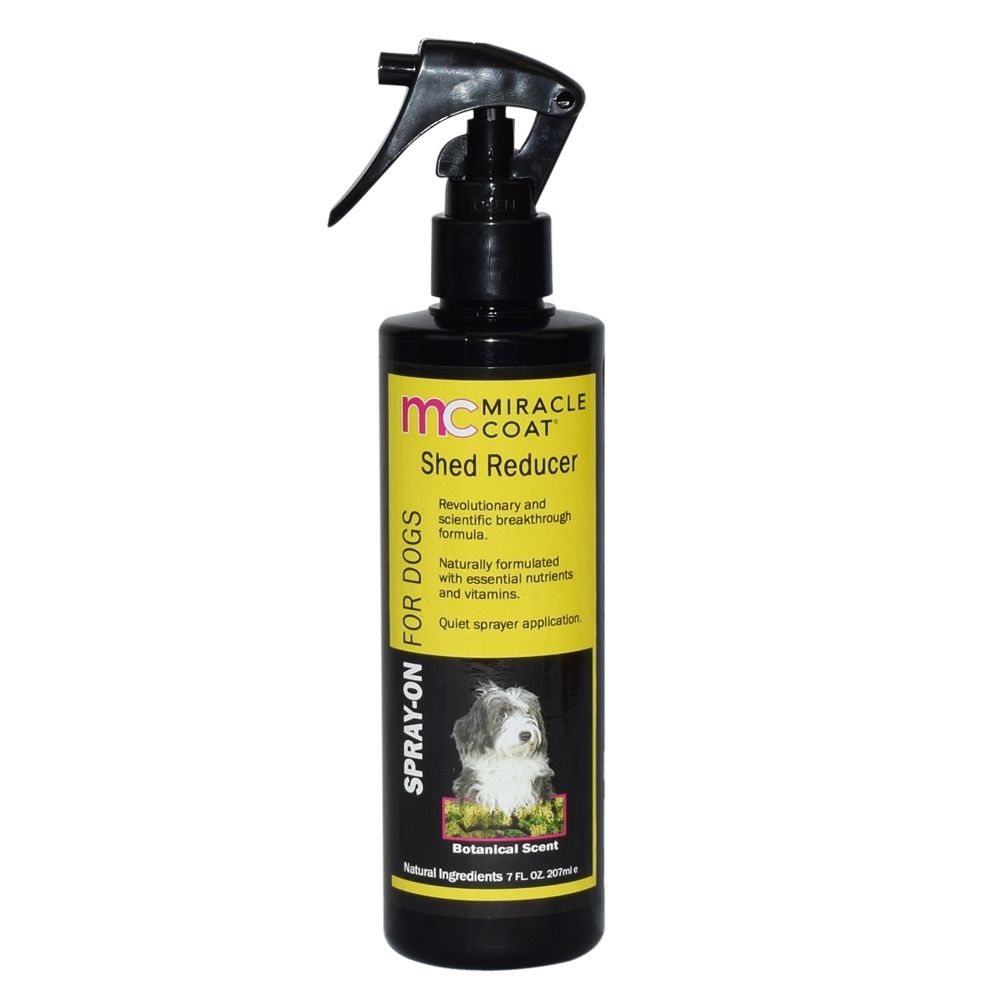 Miracle Coat Shed Reducer Dog Spray Size 7 Fl Oz