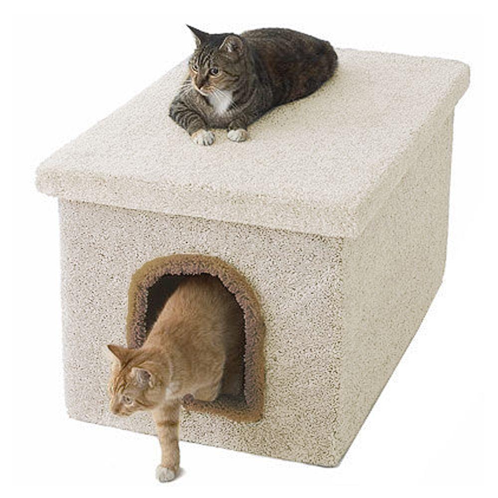 Millers Cats Cat Litter Box Size 33l X 19w X 18h Beige Millers Cats