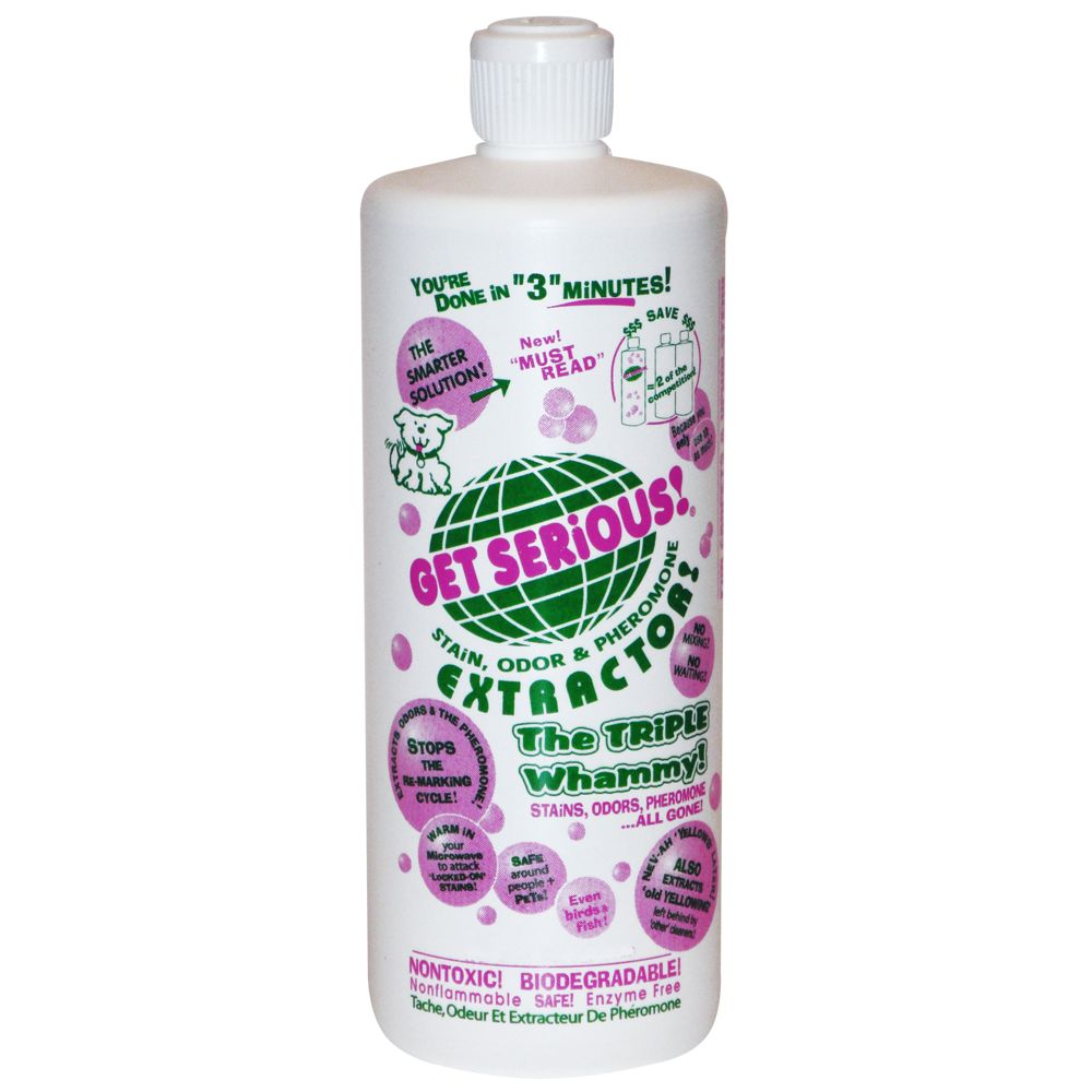 Get Serious Stain Odor And Pheromone Extractor Size 16 Fl Oz