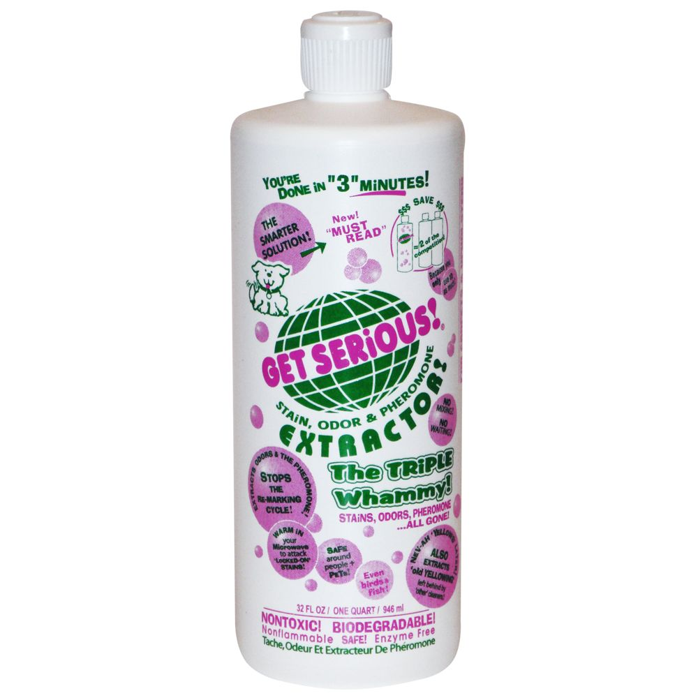 Get Serious Stain Odor And Pheromone Extractor Size 32 Fl Oz