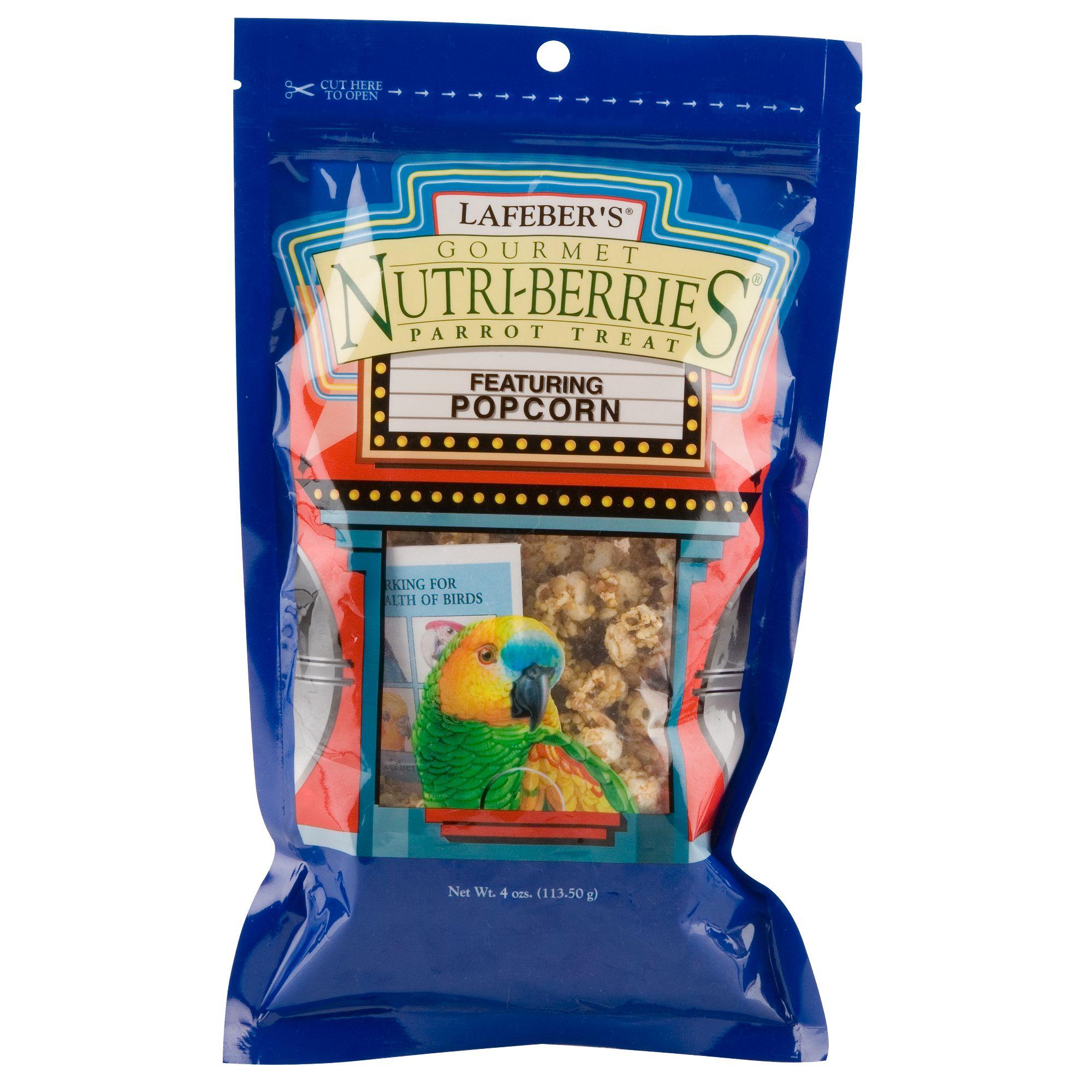 Lafeber's Nutri-Berries Popcorn Parrot Treats size: 4 Oz