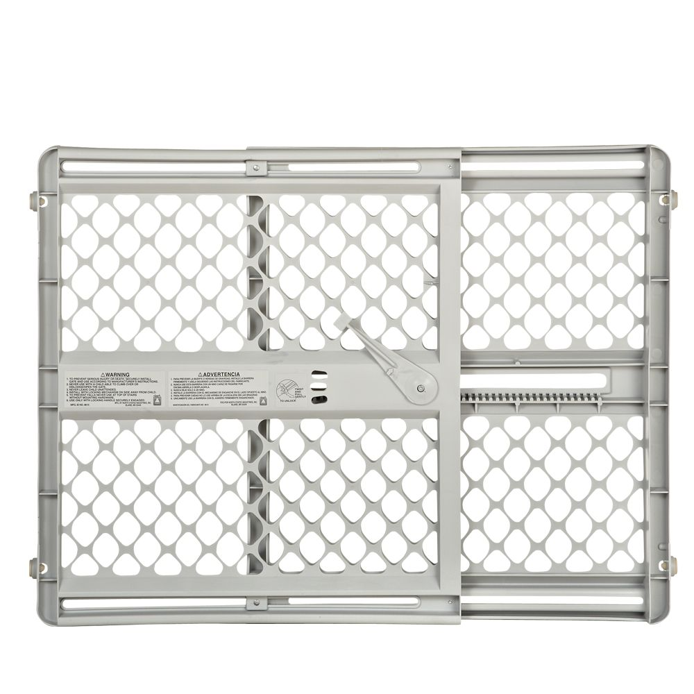 North States 5 Way Mounting Pet Gate Size 26l X 26w Gray