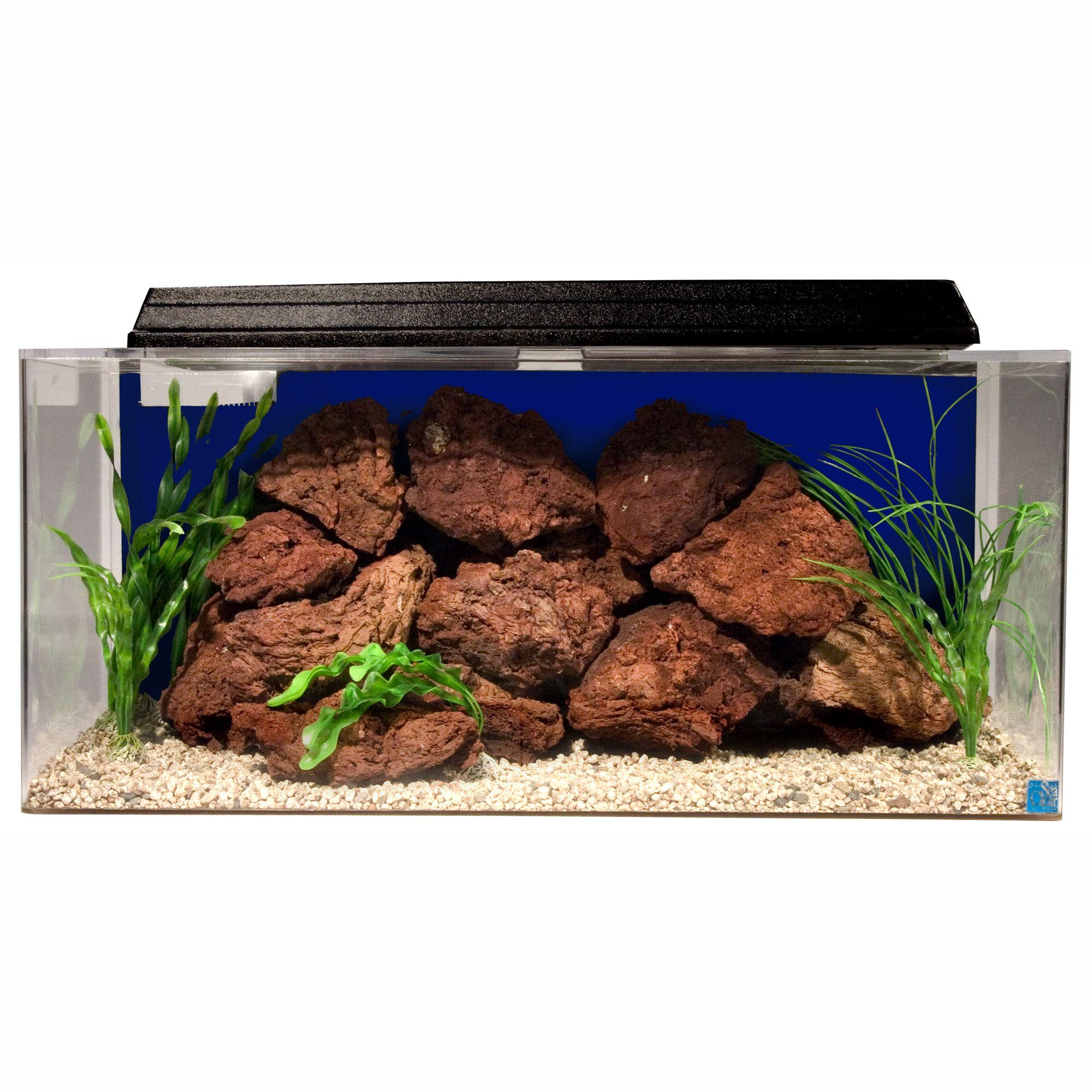 Seaclear 40 Gallon System Ii Aquarium Size 40 Gal Cobalt Blue