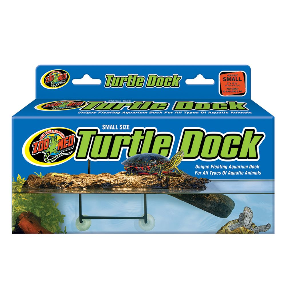 Zoo Med, Turtle Dock Aquatic Floating Turtle Dock size: Small, Light Brown 5079596