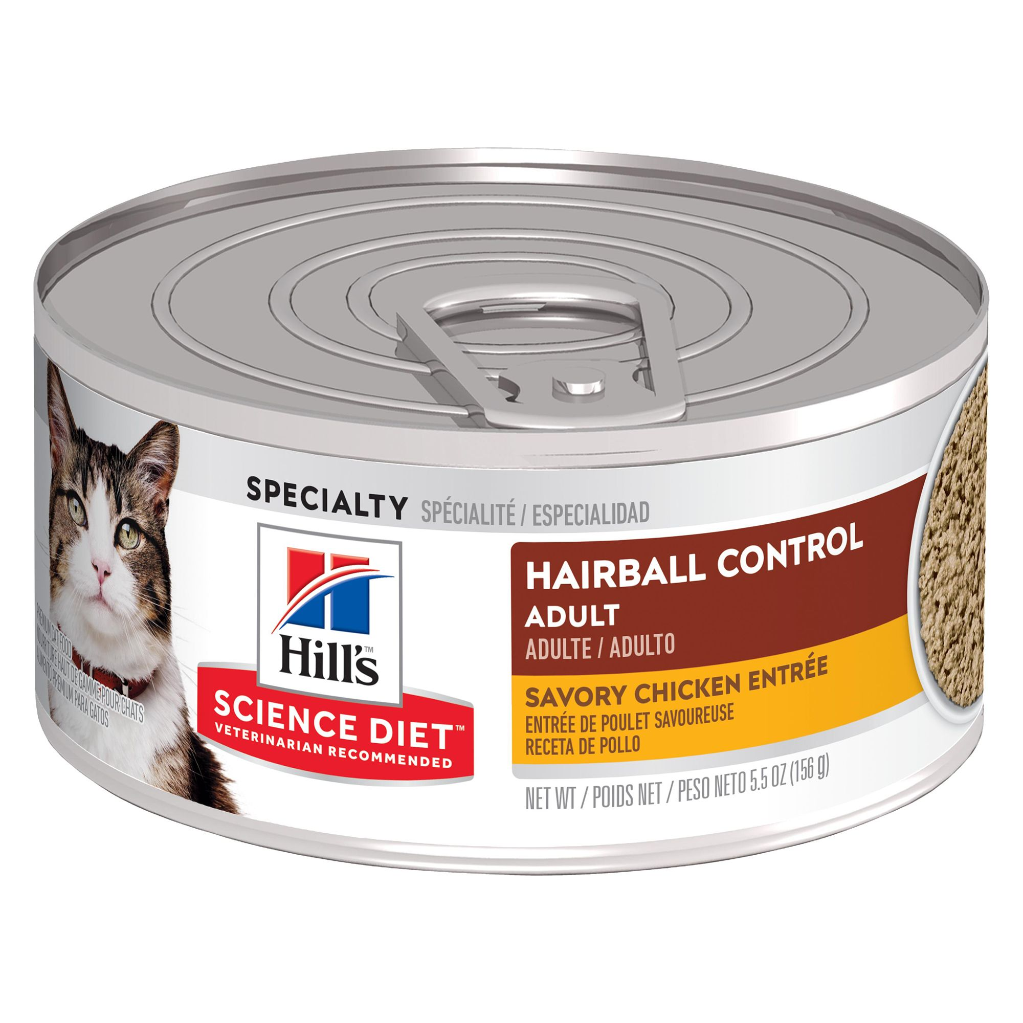 Hill's® Science Diet® Hairball Control Adult Cat Food 5081256